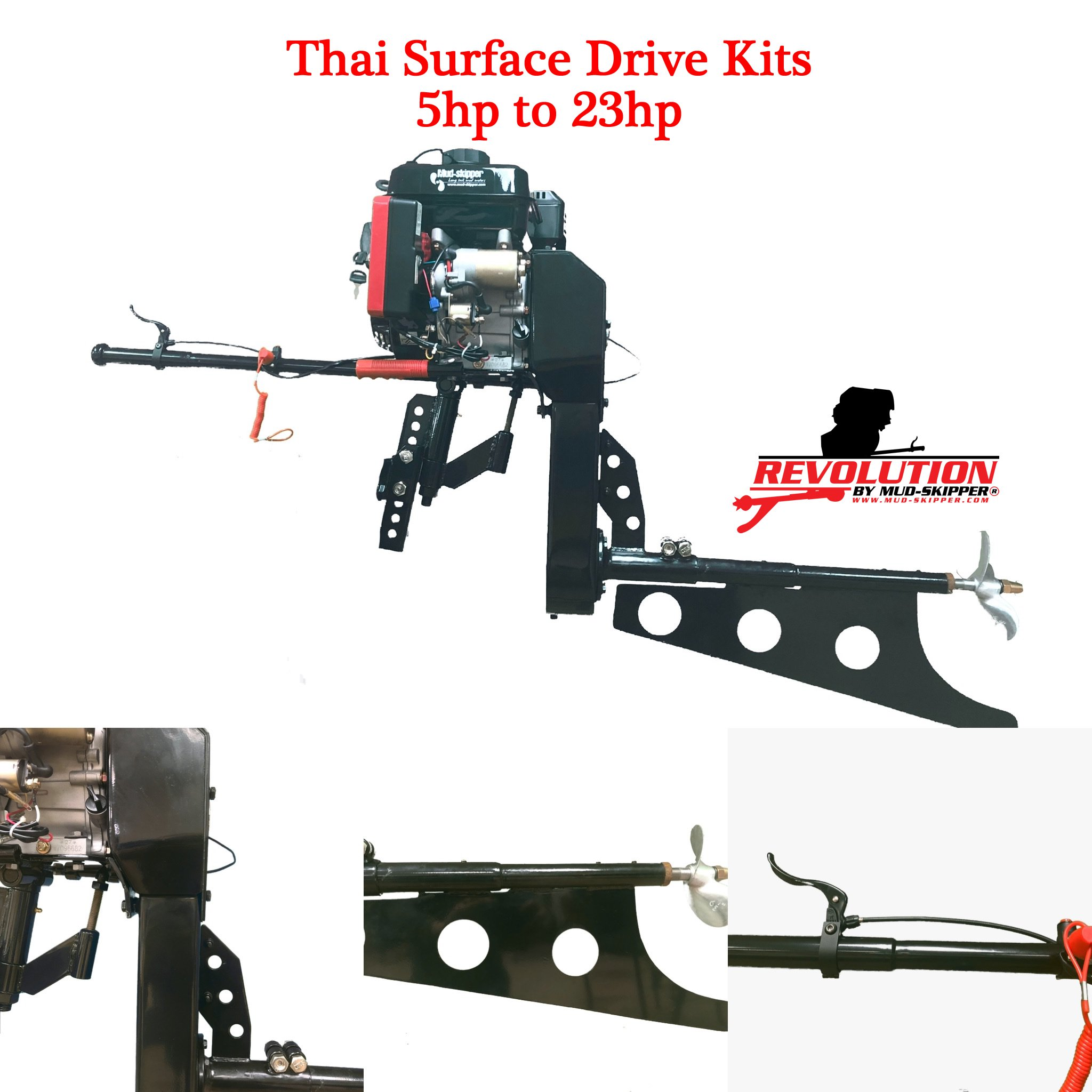 Thai Surface Drives Mud-Skipper Surface Drives