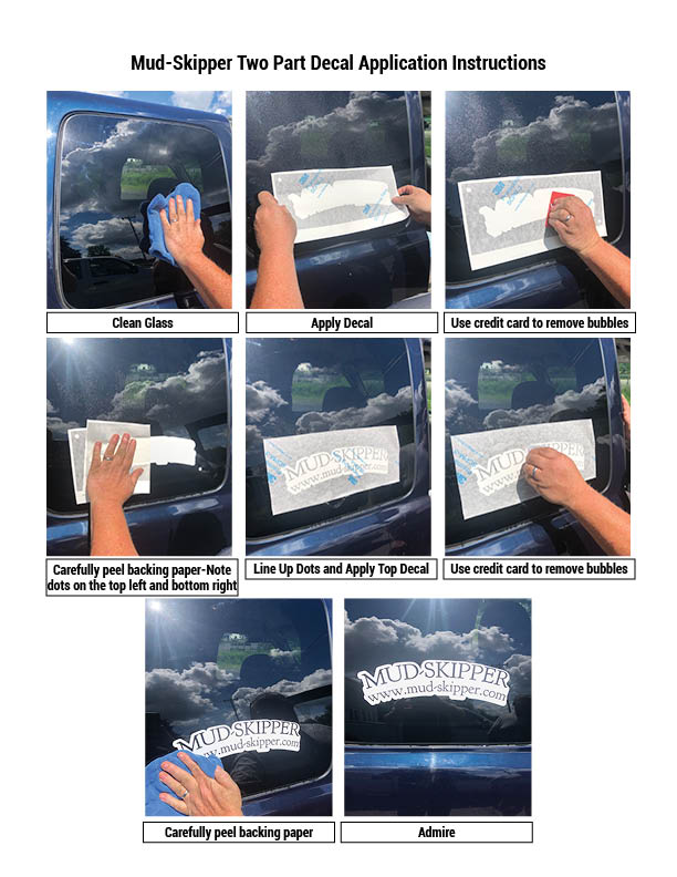 Decal Instructions