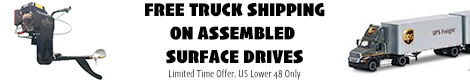 Free LTL Shipping On Assembled Surface Drives